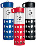24oz Sip And Go Glass Water Bottles